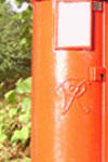 Part picture of post box