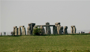 View of Stonehenge seen on our walking tour